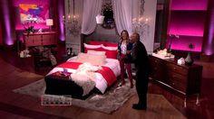 My appearance on Steve Harvey. My new bedding + Steve Harvey + baby oil = comedy