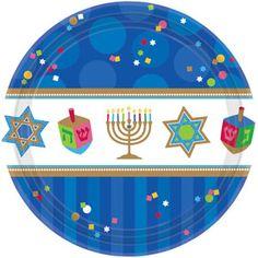 Hanukkah Celebrations Dessert Plates