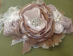 Vintage Masquerade headband by ChloeRoseCouture on Etsy