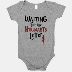 For nerd to be babies already waiting for their admission to Hogwarts. Mom says if I don't shape up I'm going to be sorted Slytherin! A wonderfully nerdy gift for a baby shower! | Beautiful Designs on Graphic Tees, Tanks and Long Sleeve Shirts with New Items Every Day. Satisfaction Guaranteed. Easy Returns.