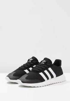 more photos d598b 4d518 adidas Originals FLASHBACK - Sneakers - core blackwhite - Zalando.dk