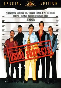 The Usual Suspects ユージュアル・サスペクツ ★★★★4.0