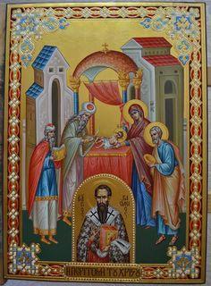 Byzantine Icons, Holy Family, Orthodox Icons, Religious Art, Virgin Mary, Jesus Christ, Catholic, Cathedral, Greece