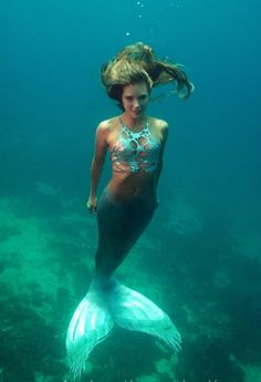 I must be a mermaid. I have no fear of depths and a great fear of shallow living. ~ Anais Nin