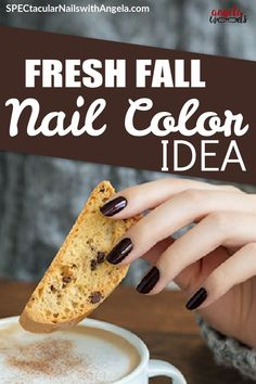 Searching for the perfect at home manicure? It doesn't get much more sophisticated than this shimmery, deep burnished brown-red. Get fall ready nails in minutes with Color Streets updated nail inspiration. Style your nails this season with a gorgeous color everyone will love. #fallnaildesign #autumnnaildesign #autumnclassyfallnaildesign