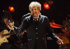 In this Jan. 12, 2012, file photo, Bob Dylan performs in Los Angeles. Dylan was named the winner of the 2016 Nobel Prize in literature Thursday, Oct. 13, 2016, in a stunning announcement that for the first time bestowed the prestigious award to someone primarily seen as a musician. (Photo via AP Photo/Chris Pizzello, File)