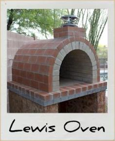 Who has always wanted a real wood fired brick pizza/bbq oven in the backyard.  This is the coolest idea ever. It's a form so you can DIY a backyard oven!!!!!