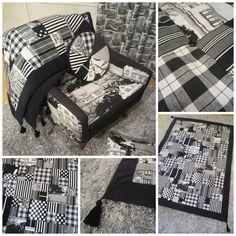 Tee-se-itse-naisen sisustusblogi: Sewn Quilted Blanket