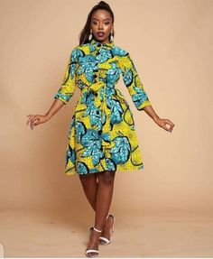 Pictures: Short Ankara Styles - Ankara Native Gowns | OD9jastyles Ankara Designs, Fashion Gallery, African Beauty, Summer Dresses, Beautiful, Collection, Instagram, Style, Swag
