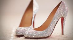 Getting married in Louboutins? Yes please.