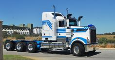 https://flic.kr/p/bDqTwZ | Kenworth T909 | MLG OZ - Hey Craig (3800) guess where the big KW you saw ended up??