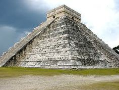 El Castillo(the castle) Temple. located at the center of Chichen Itza, Yucatan served as a temple to the Mayan god Kukultan.