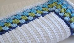 Baby Blanket Granny Border by AllThingsGranny on Etsy - nice idea for a border