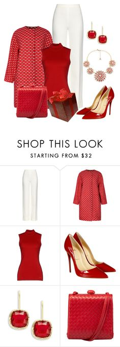 """""""Untitled #709"""" by dawndyb ❤ liked on Polyvore featuring Diane Von Furstenberg, Jonathan Saunders, G.SEL, Christian Louboutin and Lauren Ralph Lauren"""