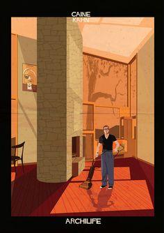 Galeria - ARCHILIFE: Estrelas do cinema em obras-primas modernistas - 4
