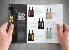 Brochure Design Layouts, Graphic Design Brochure, Booklet Layout, Booklet Design, Mise En Page Magazine, Brochure Sample, Catalogue Layout, Wine Design, Design Design