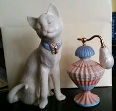 Lenox Sweet Attraction 2 Piece Cat Perfume Parvaneh Holloway | eBay