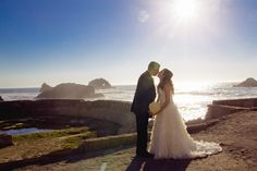 Beach Wedding | San Francisco Beach Wedding | Rubidia C Photography