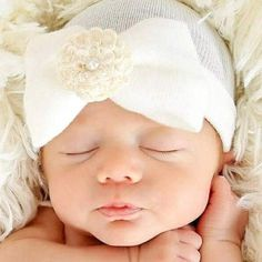 Cheap newborn baby cap, Buy Quality baby cap directly from China girls cap Suppliers: Christmas gift Newborn Baby Cap Striped Soft Cotton Hospital Hat Pretty Bowknot Flower Beanies girl caps hats accessories Baby Girl Beanies, Baby Boy Outfits, Baby Girl Newborn, Baby Girls, Girl Toddler, Newborn Hats, Infant Toddler, Infant Hat, Newborns
