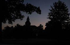 Shadows of night Michigan State University, Shadows, Celestial, Sunset, Night, Places, Outdoor, Outdoors, Darkness