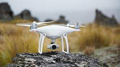 The DJI Phantom 4 is the smartest flying camera drone from DJI, allowing you to…