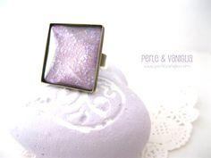 New #statement #ring in my #Etsy shop! ☆  #handmade #nail #polish #jewelry  https://www.etsy.com/it/listing/178584770/lavenda-anello-spedizione-gratuita
