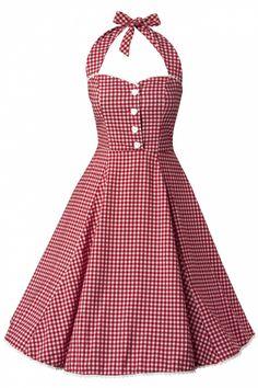 Collectif Gretel Gingham dress