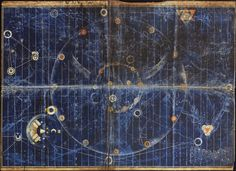 An imagined cosmography in the map from Time Bandits by Terry Gilliam, 1981