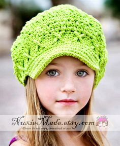 0e652fc1d91 Girls Hat Kids Hat Crochet Hat Flower Beanie with by NuxieMade ...