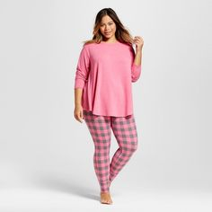 dkny plus size pajamas, seven easy pieces top and long pajama