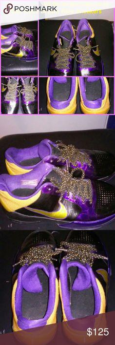 Rare Nike Zoom Kobe Bryant Lakers NBA Collectible