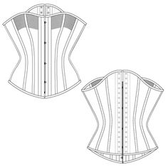 FREE CORSET PATTERNS by Ralph pink!  THANK YOU SO MUCH, Ralph!!!