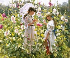 charles courtney curran paintings -