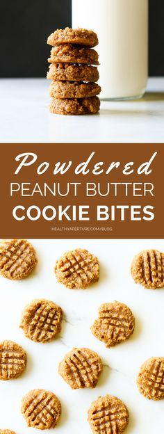 Turn powdered peanut butter into a sweet treat in these protein-packed peanut butter cookie bites.