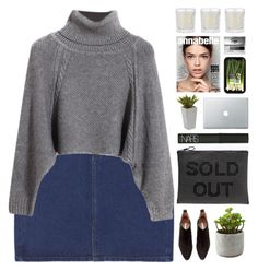 """Untitled #1992"" by tacoxcat ❤ liked on Polyvore featuring Chicnova Fashion, Zara, H&M, NARS Cosmetics, Nearly Natural, Shabby Chic and Clinique"