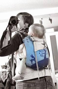 Ringonbu Freebook, Baby-Tragetuch