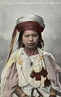 Africa: Berber Kabyle woman, Algeria