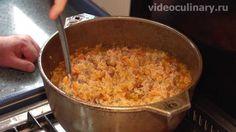 Рецепт - Рисовая каша с мясом Шавля от http://videoculinary.ru Бабушка Эмма