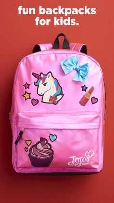 99b5c54134bc17 Backpacks with character for kids. Kohl's Cash for you! Win the school year  with