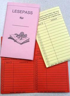 Im Lesepass notieren die Kinder, wenn sie zu Hause gelesen haben. Lesebaum. Grundschule. Lesemotivation fördern. Kinder zum Lesen motivieren.