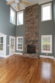 Two-story Fireplace Design Ideas, Pictures, Remodel, and Decor - page 3