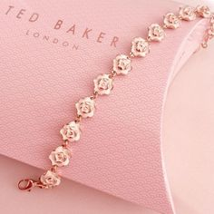 "47422e1aadf86 𝒞𝒽𝓁𝑜𝑒 🌸 on Instagram  ""My favourite little bracelet from Ted Baker 🌸"""