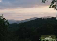 Smoky Bear Lodge - This view is amazing! And so is the cabin that owns it! Click the pin to see this luxury cabin!