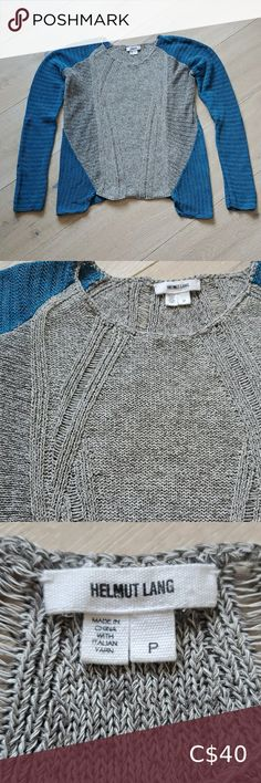 Helmut Lang top Helmut Lang knitted top. Two colored. Size P which fits about xs to s, please see the measurements Helmut Lang Tops Denim Mini Skirt, Mini Skirts, Plus Fashion, Fashion Tips, Fashion Design, Fashion Trends, Lace Slip, Hilfiger Denim, Knitted Tank Top