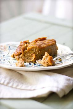 Sweet potato custard with a syrupy crust. Great treat for the fall season!