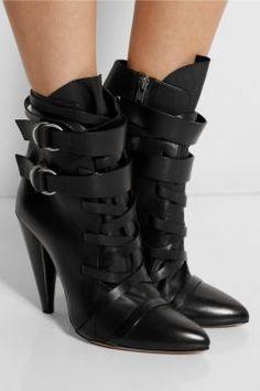 Isabel Marant Royston Leather Ankle Boots - Bot, Siyah Fiyat: 3.550,00 TL İndirimli Fiyat: 3.100,00 TL #askmoda #alisverisbirask #indirim #indirimruzgari #isabelmarant #isabelmarantindirim #isabelmarantayakkabi
