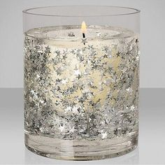 Buy John Lewis Glitter Star Medium Gel Candle, Silver from our Home & Garden range at John Lewis. Diy Candles Scented, Gel Candles, Homemade Candles, Glitter Candles, Diy Candle Lantern, Candle Jars, Candle Holders, John Lewis, Candlemaking