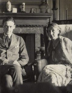 T. S. Eliot and Virginia Woolf.