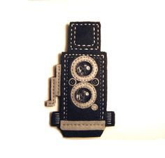 Twin Lens Reflex Camera Fridge Magnet Hand Sewn From by moddyboy80, $14.00