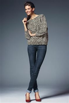 Vintage Relaxed Skinny Jeans $56